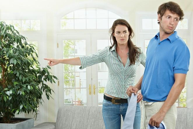 наверное почему женщины уходит из дома вшам